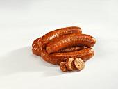 Paprika sausages