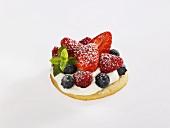 A mixed berry tart
