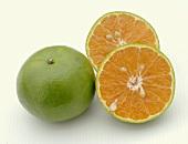 Ganze & Halbierte Tangerine