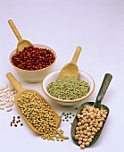 Various dried pulses