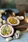 Passion fruit and peanuts