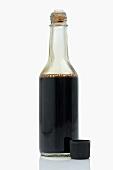 Soy sauce in bottle