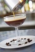 Ein Kaffee-Cocktail