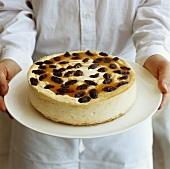 Sultana cheesecake