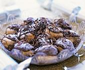 Profiteroles with chocolate