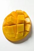 Fresh mango, cut into cubes