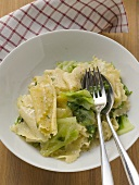 Krautfleckerl (pasta and cabbage dish)