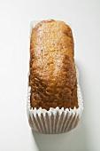 Loaf cake in paper case