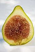 Half a green fig