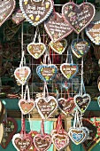 Lebkuchen hearts at Oktoberfest