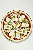 Mozzarella pizza (unbaked)