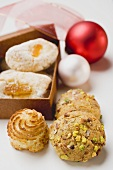 Assorted Italian almond biscuits to give as a gift