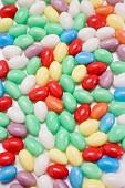 Coloured sugar eggs (full-frame)