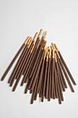 Chocolate sticks (overhead view)