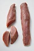 Two pork fillets