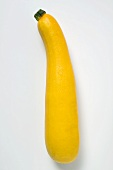 Yellow courgette