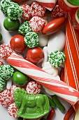 Assorted Christmas sweets