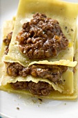 Lasagne with meat sauce