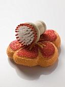 Colourful sponge and brush