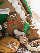 Christmas gingerbread house (detail)