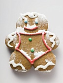 Sugared gingerbread man
