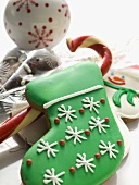 Assorted Christmas biscuits and sweets