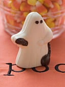Sweet (chocolate ghost) for Halloween