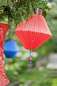 Chinese lanterns (garden party decorations)