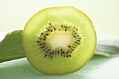 Slice of kiwi fruit