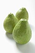 Three guavas