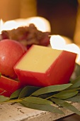 Edam cheese (Christmas)