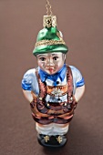 Christmas tree ornament from Bavaria (man in lederhosen)