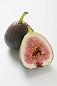 Whole fig and half a fig