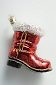Christmas tree ornament (boot)