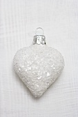 White heart (Christmas tree ornament)