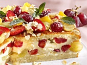 Fruit gateau (detail)