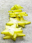 Carambola slices