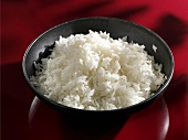 Cooked basmati rice in a bowl