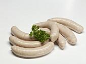 Seven Weisswurst (white sausages)