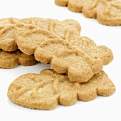 Several almond biscuits