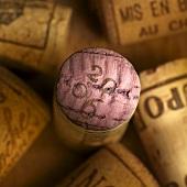 Several wine corks