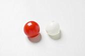 Cherry tomato and mozzarella