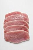 Minute pork loin steaks