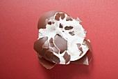 Chocolate-coated marshmallow treat (crushed)