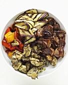 Fried vegetables (for vegetable lasagne)
