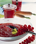 Redcurrant and carrot jam