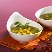 Kartoffel-Curry-Suppe (Indien)