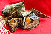Zongzi (Sticky rice dumplings wrapped in leaves, China)