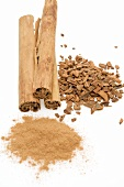 Cinnamon (whole & chopped cinnamon sticks, ground cinnamon)