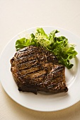 Grilled Steak with Side Salad